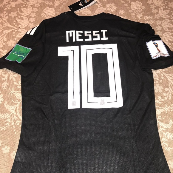 check out 97da3 e82be Lionel Messi Argentina Soccer jersey size M NWT